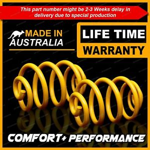 2 Rear King Super Low Coil Springs for SUZUKI SX4 GYB AWD 2007-1/2012
