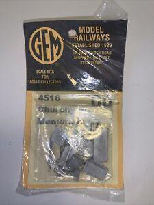 GEM Model Railways OO/HO Gauge 4516 Churchyard Memorials Gravestones Tombstones