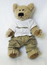 Jockey COTTON CORPS Geo Pals Teddy Bear PLUSH Stuffed Animal Advertising HTF
