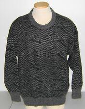 Vintage Ermengildo Zegna Wool Crewneck Sweater, Large (Euro 50) Mid / Late 1980s