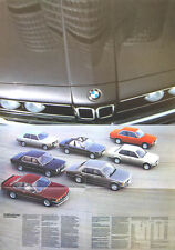BMW 3 Series 5 Series 6 Series 7 Series 1982-83 original UK Sales Brochure