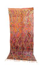 "TALSINT Vintage Moroccan Rug, 6'7"" x 13'7"" feet / 200 x 413 cm"
