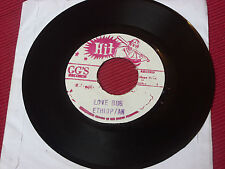 """Ethiopian Love Bug""  (DEF NOT THE RIGHT TRACK)/ Version  7""  Hit GG's  JA Press"