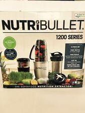 Original Nutribullet Max.1200 Extractor Blender Complete 12 pc Set UK seller