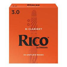 Rico Bb Clarinet Reeds Strength 3 (Box of 10)