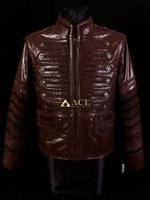 Waist Length Funnel Neck Military Men's Coats & Jackets
