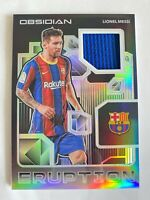 2020-21 Panini Obsidian Lionel Messi Jersey 081/149 Soccer Card