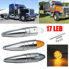 17 LED Cab Lorry Top Roof Marker Light Indicator For Peterbilt kenworth Truck