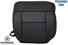 2006 F-150 Lariat -PASSENGER Side Bottom Replacement Leather Seat Cover Black