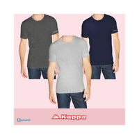 Maglie uomo manica corta ROBE DI KAPPA T-shirt GRIGIO K1305 GIROCOLLO
