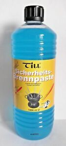 Flüssig Brennpaste 1 Liter Sicherheitsbrennpaste Brenngel  von Till
