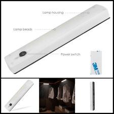 10 Led Pir Motion Sensor Cabinet Light Wardrobe Cupboard Closet Drawer Desk Lamp