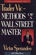 Trader Vic--Methods of a Wall Street Master by Victor Sperandeo (1993,...
