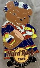 Hard Rock Cafe HELSINKI 2013 Classic Teddy Bear Playing Drum PIN - LE 150 #73923