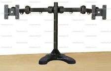 "EZM Articulating Dual Monitor Mount Stand Free Standing Up to 27"" (002-0027)"
