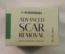 Puriderma Advanced Scar Removal Skin Repair Cream-1 fl oz / 30mL 11/2021 Sealed