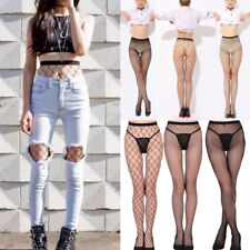 Women Sexy Black Fishnet Ladies Tights Stockings One Size Pantyhose Top Hold Up