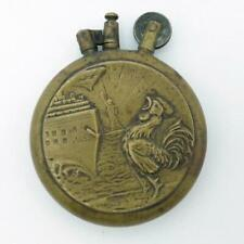 Vintage WWI Rare LARGE Size Trench Art Lighter Statue of Liberty Eagle Liftarm