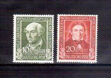 GERMANY 1949 Relief Fund Hohenheim & Froebel MVLH