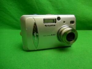 Fujifilm FinePix A Series A303 3.2MP Digital Camera - Silver Tested Working