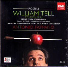 ROSSINI: GUILLAUME TELL Gerald Finley Lemieux ANTONIO PAPPANO 3CD William Tell