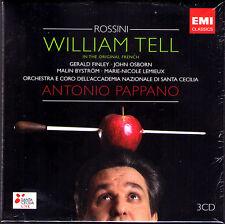 ROSSINI: GUILLAUME TELL Gerald Finley Lemieux ANTONIO PAPPANO 3CD William Tell