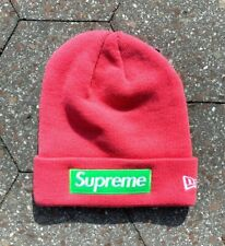 Supreme x New Era Pink Box Logo FW17 Beanie