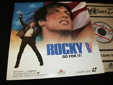 "ROCKY V<>SYLVESTER STALLONE<>12"" Laserdiscs<>MGM ML102218 ° 1990"