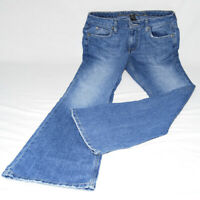 "ARIZONA Womens Size 9 Denim Blue Jeans 30-31"" Inseam Flare Fit Mid Rise Faded"