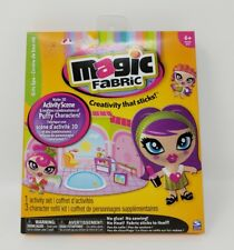 Magic Fabric Activity Set Girls Spa Refill Kit New