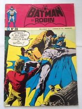 batman et robin # 39, 1975 edition interpresse