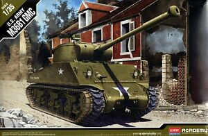 M36B1 Réservoir Destroyer 12/14 Tank Armato Plastique Kit 1:3 5 Model Academy