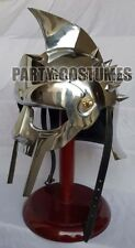 Medieval Roman Gladiator Armor Helmet Movie Replica Helmet Spartan Knight Gift