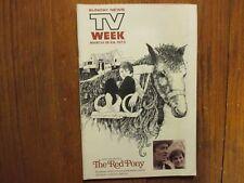 Ma-1973 Lancaster TV Mag(CLINT HOWARD/MAUREEN O'HARA/RODNEY DANGERFIELD/RED PONY