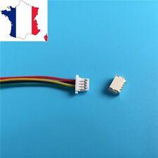 Connecteur micro JST-SH 1mm 4p idéal controleur de vol CC3D, Naze 32 ....