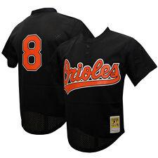 1c7801656f1 1997 Baltimore Orioles Cal Ripken Jr Sz 56 Black Mitchell   Ness BP Jersey