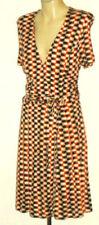 Rayon Knee Length Tea Dresses'