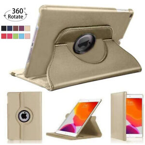 """For Apple iPad 10.2"""" 2020 (8th Generation) 360 Rotating Leather Smart Case Cover"""