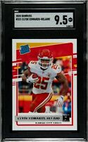 2020 Donruss Clyde Edwards-Helaire #321 Rated Rookie Chiefs SGC 9.5 Comp PSA BGS