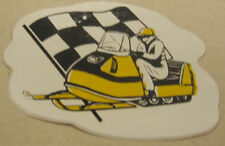 Bel-Mart Inc. Ski-Doo 1969 / 1970 reproduction (left) vintage decals / stickers