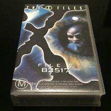 The X Files,  File 7 - 82517 VHS PAL Format
