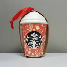 Starbucks Malaysia Christmas 2018 Ornament - Hot Cup with Whip