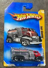 Hot Wheels Fast Gassin Oil Supply Truck Diecast BB