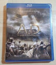 A. D. The Bible Continues (Blu-ray Disc, 2015, 4-disc Set)^ New Sealed