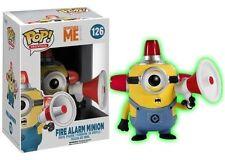 Funko Despicable Me - Fire Alarm Minion Glow US Pop Vinyl Figure