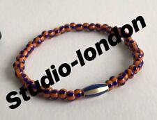 LUIS MORAIS Glass Bead Enamelled Gold Bracelet RRP £380