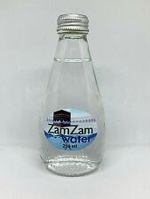Water ZamZam by Mekkah , 200 ml , Glass Bottle , Best Gift for Muslim