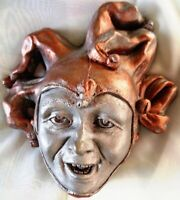 Handmade Jester Collectible Wall Art, A Clown With One Job: to Make You Smile