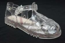 BURBERRY CLEAR JELLY BABY GIRLS SANDALS SHOES 26/8