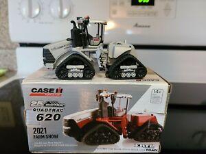 ERTL TOMY 2021 FARM SHOW ED 1:64TH CASE IH 620 QUADTRAC 25 years Chaser NIB